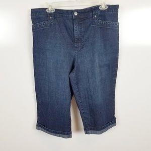 Sz 16 Gloria Vanderbuilt Skimmer Jeans